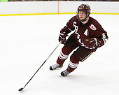 Ryan Grimshaw (Harvard - 6) - The Harvard University Crimson defeated the visiting Colgate University Raiders 6-2 (2 EN) on Friday, January 28, 2011, at Bright Hockey Center in Cambridge, Massachusetts.