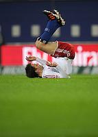 USSBALL   1. BUNDESLIGA    SAISON 2012/2013    10. Spieltag   Hamburger SV - FC Bayern Muenchen                    03.11.2012 Milan Badelj (Hamburger SV)