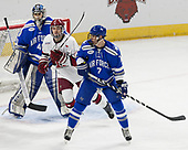 Shane Starrett (AFA - 40), Ryan Donato (Harvard - 16), Matt Koch (AFA - 7) - The Harvard University Crimson defeated the Air Force Academy Falcons 3-2 in the NCAA East Regional final on Saturday, March 25, 2017, at the Dunkin' Donuts Center in Providence, Rhode Island.