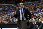 10 March 2016: Duke head coach Mike Krzyzewski. The University of Notre Dame Fighting Irish played the Duke University Blue Devils at the Verizon Center in Washington, DC in the Atlantic Coast Conference Men's Basketball Tournament quarterfinal and a 2015-16 NCAA Division I Men's Basketball game. Notre Dame won the game 84-79 in overtime.
