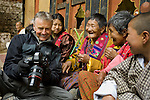 Art wolfe on location in Bhutan