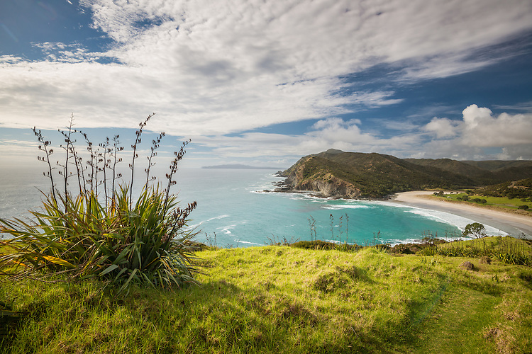 Tapotupotu Bay, Northland, New Zealand - stock photo, canvas, fine art print