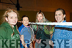 Listowel Badminton Championships: Taking part in the Listowel Badminton Championships in the Listowel Sports centre on Sunday last were Eileen McGovern, Cindy Walsh, Agnicszna Nicdridsna & Karen Lawlor.