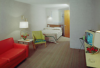 Cresse Courts Motel, Wildwood, NJ. Motel Room.