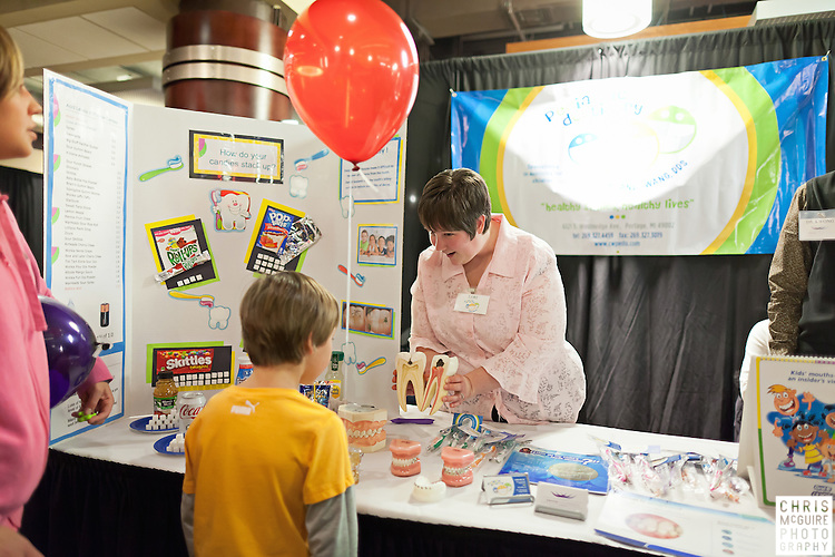02/12/12 - Kalamazoo, MI: Kalamazoo Baby & Family Expo.  Photo by Chris McGuire.