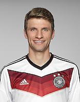 FUSSBALL   PORTRAIT TERMIN DEUTSCHE NATIONALMANNSCHAFT 24.05.2014 Thomas Mueller (Deutschland)
