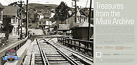 Glen Park Bridge | May 20, 1908  | Treasures from the Muni Archive at the SFO International Terminal