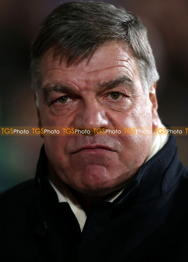 West Ham manager Sam Allardyce - West Ham United vs Manchester City, Capital One Cup Semi-Final, 2nd Leg at Upton Park, West Ham - 21/01/14 - MANDATORY CREDIT: Rob Newell/TGSPHOTO - Self billing applies where appropriate - 0845 094 6026 - contact@tgsphoto.co.uk - NO UNPAID USE