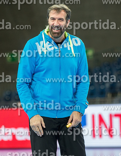 Veselin Vujovic, head coach of Slovenia during practice session of Team Slovenia on Day 1 of Men's EHF EURO 2016, on January 15, 2016 in Centennial Hall, Wroclaw, Poland. Photo by Vid Ponikvar / Sportida