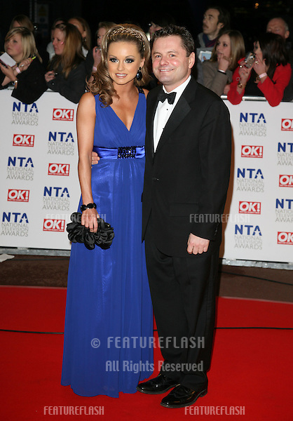 Chris Hollins arriving at the National Television Awards 2010, at the O2, London. 20/01/2010  Picture by: Alexandra Glen / Featureflash