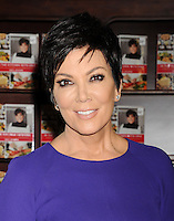 OCT 25 Kris Jenner Signs Copies Of Her New Book 'In The Kitchen With Kris'