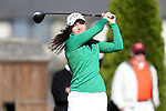 17 April 2016: Notre Dame's Emma Albrecht. The Second Round of the Atlantic Coast Conference's Women's Golf Championship was held at Sedgefield Country Club in Greensboro, North Carolina.