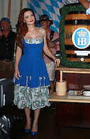OCT 17 Holly Madison taps a keg at Hofbrauhaus