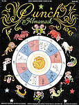 Punch - Almanack Number for 1943 - 19 October 1942..Cover showing Mr Punch in the middle of a wartime themed horoscope predicting the demise of the nazis...Cartoon by Punch..