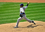 28 May 2011: San Diego Padres pitcher Mike Adams on the mound against the Washington Nationals at Nationals Park in Washington, District of Columbia. The Padres defeated the Nationals 2-1 to even up their 3-game series. Mandatory Credit: Ed Wolfstein Photo