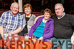 Castelisland people supporting the WLR 102 ( West Limerick radio) Tea Dance held last Sunday in Fr. Casey's Clubhouse Abbeyfeale.<br /> L-R  Timmy O' Connor, Eileen Somers, Peg McGlinn &amp; her son Dan.