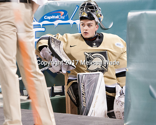 Matt Penta (Army - 1) - The Bentley University Falcons defeated the Army West Point Black Knights 3-1 (EN) on Thursday, January 5, 2017, at Fenway Park in Boston, Massachusetts.The Bentley University Falcons defeated the Army West Point Black Knights 3-1 (EN) on Thursday, January 5, 2017, at Fenway Park in Boston, Massachusetts.