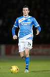 St Johnstone v Rangers&hellip;28.12.16     McDiarmid Park    SPFL<br />Joe Shaughnessy<br />Picture by Graeme Hart.<br />Copyright Perthshire Picture Agency<br />Tel: 01738 623350  Mobile: 07990 594431