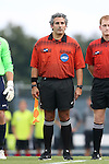 15 August 2014: Assistant Referee Brian Saucedo. The University of North Carolina Tar Heels hosted the Gardner-Webb University Bulldogs at Fetzer Field in Chapel Hill, NC in a 2014 NCAA Division I Men's Soccer preseason match. North Carolina won the exhibition 7-0.