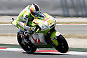 July 3, 2010 - Catalunya, Spain - Tuenti Racing's Pol Espargaro powers his bike during a free practice session at Catalunya, on July 3, 2010. (Photo Andrew Northcott/Nippon News)