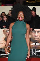 LONDON, UK. November 28, 2016: Clara Amfo at the &quot;I Am Bolt&quot; World Premiere at the Odeon Leicester Square, London.<br /> Picture: Steve Vas/Featureflash/SilverHub 0208 004 5359/ 07711 972644 Editors@silverhubmedia.com
