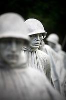Washington DC Korean War Veterans Memorial