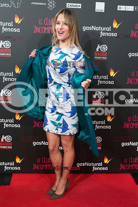 Marta Larralde attend the Premiere of the movie &quot;El club de los incomprendidos&quot; at callao Cinema in Madrid, Spain. December 1, 2014. (ALTERPHOTOS/Carlos Dafonte) /NortePhoto<br /> /NortePhoto