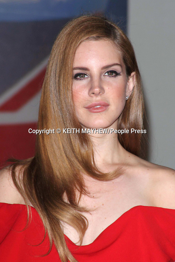 London - Brit Awards 2012 Red Carpet Arrivals at the O2 Arena, London - February 21st 2012..Photo by Keith Mayhew