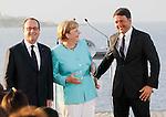 Renzi Holland Merkel sulla Garibaldi