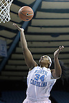 14 November 2014: North Carolina's Xylina McDaniel. The University of North Carolina Tar Heels hosted the Howard University Bison at Carmichael Arena in Chapel Hill, North Carolina in a 2014-15 NCAA Division I Women's Basketball game. UNC won the game 83-49.