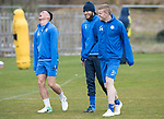 St Johnstone Training&hellip;14.04.17<br />Clive Smith, Murray Davidson and Brian Easton having fun during training at McDiarmid Park this morning ahead of tomorrow&rsquo;s game against Aberdeen.<br />Picture by Graeme Hart.<br />Copyright Perthshire Picture Agency<br />Tel: 01738 623350  Mobile: 07990 594431