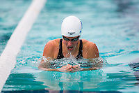 Santa Clara, California - Saturday June 4, 2016: Martha McCabe races in the Women's 200 LC Meter Breaststroke at the Arena Pro Swim Series at Santa Clara, McCabe took the top seed in the morning session with a 2:28.80.