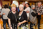 Enjoying the Sliabh Luachra Active Retired  tea dance at the River Island Hotel on Sunday were l-r Betty O Rourke and Maureen Hickey