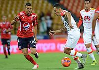 Deportivo Independiente Medellin vs Independiente Santa Fe 21-01-2017. SuperLiga Aguila 2017 Ida