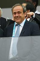 Michel Platini the President of UEFA