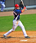 8 March 2009: Washington Nationals' third baseman Ryan Zimmerman in action during a Spring Training game against the New York Mets at Space Coast Stadium in Viera, Florida. The Nationals defeated the Mets 8-3 in the Grapefruit League matchup. Mandatory Photo Credit: Ed Wolfstein Photo