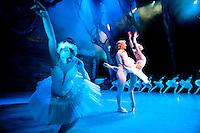 A ballet company performance in Prague, Czech Republic.