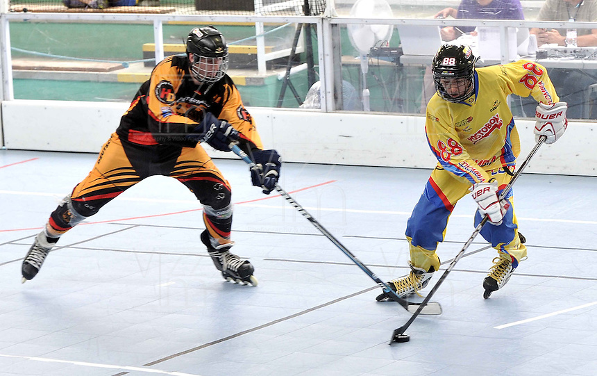 TOULOUSE - FRANCIA: Se realizan en Toulouse Francia los Campeonatos Mundiales de Hockey en Linea en las modalidades de Junior Varones, Damas Mayores, Juvenil Damas y Mayores Varones, con la participaci&oacute;n de 24 paises, del 30 de junio al 13 de julio. <br /> Performed in Toulouse France Hockey World Championships Online in the categories of Junior Men, Senior Women, Junior Men and Senior Ladies, with the participation of 24 countries, from 30 June to 13 July. Photos: VizzorImage / Luis Ramirez / Staff.