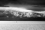 Clouds over Catalina, CA.