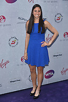 Christina McHale at WTA pre-Wimbledon Party at The Roof Gardens, Kensington on june 23rd 2016 in London, England.<br /> CAP/PL<br /> &copy;Phil Loftus/Capital Pictures /MediaPunch ***NORTH AND SOUTH AMERICAS ONLY***