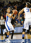 UK guard Keyla Snowden goes up for a shot during the second half of the UK Women's basketball game against Southern Miss on 11/19/11 in Lexington, KY. Photo by Quianna Lige | Staff