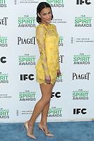 SANTA MONICA, CA, USA - MARCH 01: Paula Patton at the 2014 Film Independent Spirit Awards held at Santa Monica Beach on March 1, 2014 in Santa Monica, California, United States. (Photo by Xavier Collin/Celebrity Monitor)