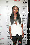 WBNA Basketball Player Cappie Pondexter Attends New Premium Lounge Signed by INDASHIO Men's Collection Fashion Show at AUDI FORUM, NY  9/13/11