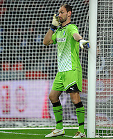 FUSSBALL   1. BUNDESLIGA   SAISON 2011/2012    15. SPIELTAG Bayer 04 Leverkusen - 1899 Hoffenheim                  02.12.2011 Tom Starke (TSG 1899 Hoffenheim)