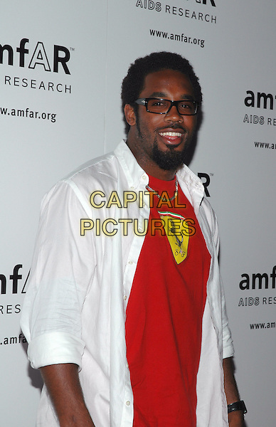 20June 2005 - New York, New York -  Philadelphia Eagles' Dhani Jones arrives at the 14th Annual AmFAR Rocks Benefit at Tavern On The Green in New York's Central Park..Photo Credit: Patti Ouderkirk/AdMedia.Ref: ADM.www.capitalpictures.com.sales@capitalpictures.com.©AdMedia/Capital Pictures.