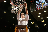 25 February 2007: Christy Titchenal during Stanford's 56-53 win over USC at Maples Pavilion in Stanford, CA.