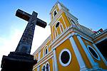 Nicaragua / Granada / Cathedral of Granada / Cruz de Siglo / Independence Plaza