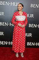 """HOLLYWOOD, CA - AUGUST 16: Andra Day at the LA Premiere of the Paramount Pictures and Metro-Goldwyn-Mayer Pictures title """"Ben-Hur"""", at the TCL Chinese Theatre IMAX on August 16, 2016 in Hollywood, California. Credit: David Edwards/MediaPunch"""