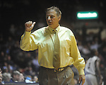"Southern Mississippi coach Larry Eustachy at C.M. ""Tad"" Smith Coliseum in Oxford, Miss. on Saturday, December 4, 2010."