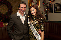 Paul 'Spike' Reddington, founder of Spike Photography, was one of the event sponsors who met with the lovely Alicia Caley at Mansfield's Il Rosso Restaurant on Nottingham Road.